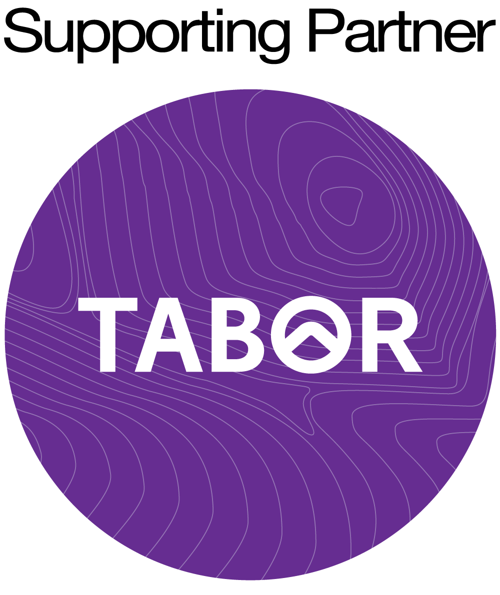 Tabor logo with the words supporting partner above.